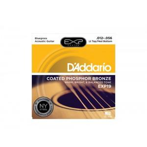 Jogo cordas 012 guit acust PhBronze Daddario EXP19 012-056