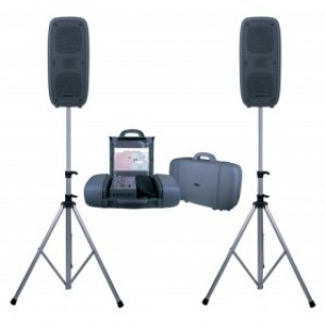 PSS-50 PORTABLE SOUND SYSTEM USB/SD/MP3