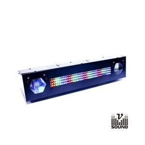 Vsound Barra de Leds C/ 2 Strobe Rgb LEDFXBAR2