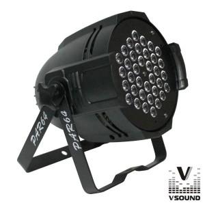 Vsound Projector Luz C/ 36 Leds 3W Rgb Dmx VSPROJ108A