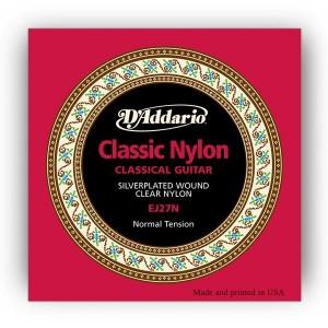 D'Addario Conjunto Cordas J27N Student Nylon Classics Normal Tension