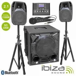 Ibiza CUBE1100-BT