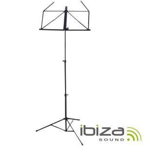 Ibiza Suporte Pautas Musicais 68-145cm - SMU001