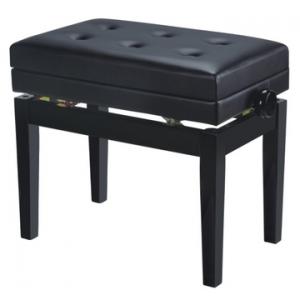 BANCO PIANO REF. 007 C/COFRE PRETO BRILHO