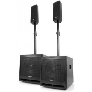 Vonyx Sistema Som Ampli. BTH/USB/SD/MP3 1000W (VX1000BT 2.2)
