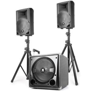 Sistema Som Bi-Amplificado 900W (VX840BT 2.1) - VONYX