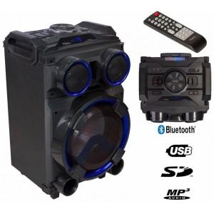 "Ibiza Coluna Amplificada 12"" 400W Comando USB/BT/SD/FM standup12"