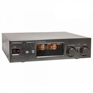 MADISON Amplificador a Válvulas 2x80w Vintage Usb/bt