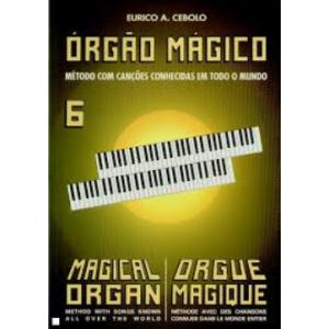 ORGÃO MÁGICO COLECÇÃO 6 VOLUMES