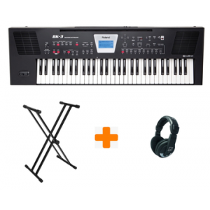 ROLAND BK 5 TECLADO BUNDLE BASIC