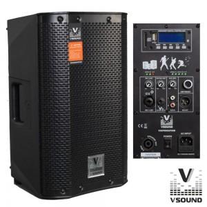 "VISOUND COLUNA BI-AMPLIFICADA 8"" VSSPRO8APUSB"