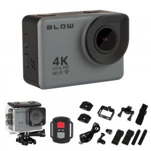 Câmara De Ação / WebCam Ultra HD 4K Wi-Fi À Prova De Água