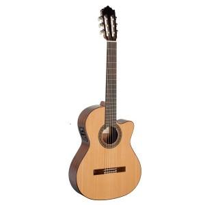 Guitarra classica elect Paco Castillo 220CE Natural