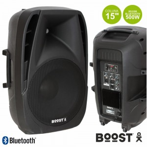 "Boost Coluna Amplificada 15"" BOOST15A-BT - BOOST15ABT"
