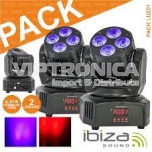 Pack Luz 01 2x Lmh-MiniWash IBIZA