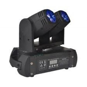 Moving Head Duplo 2 LEDS 12W Duplo DMX Mic VSOUND LEDMV210RGBW