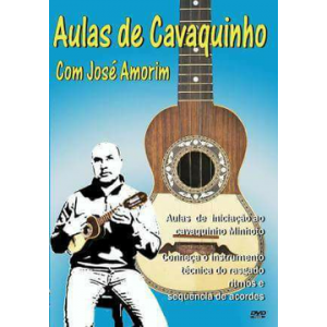 DVD AULAS DE CAVAQUINHO JOSÉ AMORIM