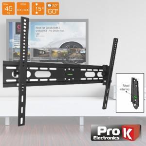 """ProK Electronics Suporte para Lcd 32/60"""" 45KG Preto FX704"""