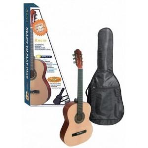 Pack de Guitarra Clásica 4/4 Rocío 10