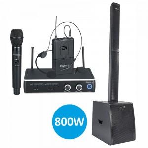 Pack Central Microfones/Conjunto Som Amplif.PACKSOM1