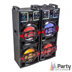 Sistema De Som C/USB/Bluetooth/Micro-SD 850W PARTY BOX410